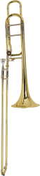 Bach Professional Model 36BO Bb/F Tenor Trombone