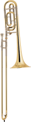 Bach Professional Model 36B Bb/F Tenor Trombone