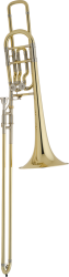 Bach Professional Model 50B2O Bass Trombone