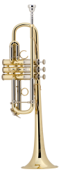 Bach Professional Model AC190 C Trumpet